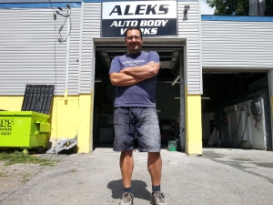OTTAWA - Aug 6, 2015 - Alexander Koundakjian of Aleks Auto Body on Gladstone Ave. says in his experience even the smallest animals can cause serious damage to vehicles. JON WILLING/OTTAWA SUN/POSTMEDIA NETWORK